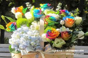 彩虹玫瑰的繁殖方式
