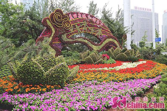 济南高新区绿化美化带