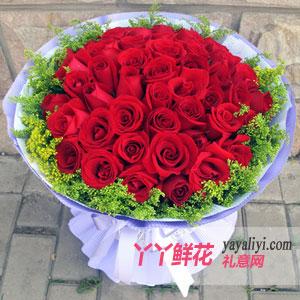 33朵红玫瑰鲜花预定