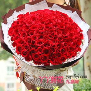 沸腾之爱 - 鲜花99朵红玫瑰免费送花