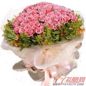 鲜花99朵紫玫瑰提前预定