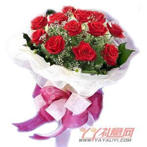 12朵红玫瑰