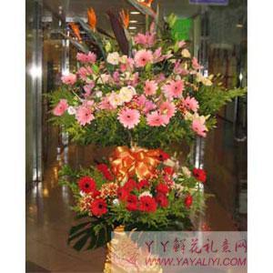 西安凤城四路公司开业花篮(宏运当头)