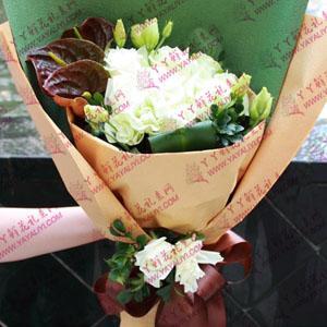 21支白玫瑰鲜花速递