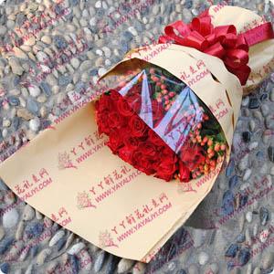 27支A级红玫瑰