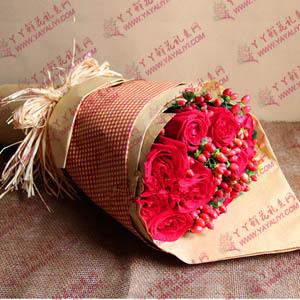 19支红玫瑰