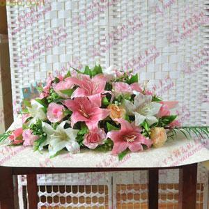 西安会议桌花台花