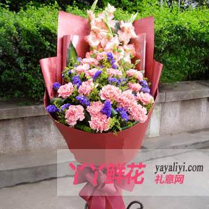 母亲节鲜花幸福心愿