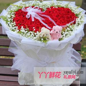 99朵红玫瑰求爱表白(情系今生)