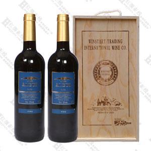西安进口红酒阿尔珀斯木盒装(2瓶)