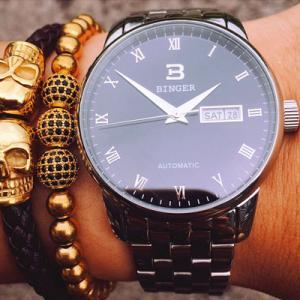 宾格手表全自动机械表