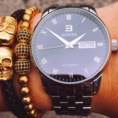 定制机械机芯 - 宾格手表全自动机械表