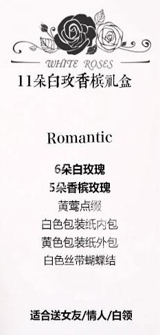 11朵玫瑰礼盒推荐
