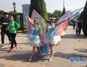 国庆期间北京世界花卉大观园将举办花车游园活动