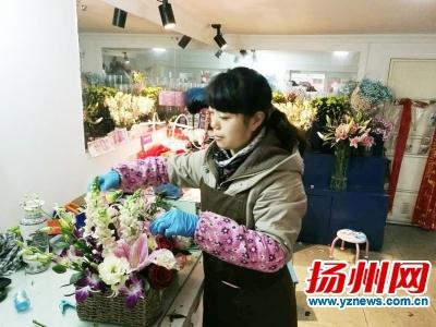 春节前鲜花市场价格波动大 玫瑰比百合贵价格上涨