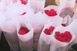 重庆:妇女节花店生意俏 鲜花销量赶超情人节