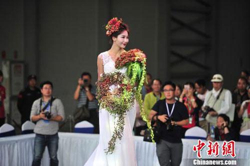 昆明国际花卉展开幕 多国鲜花春城争艳