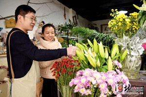 衡水冀州区花卉市场鲜花俏销